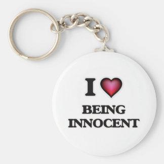 Chaveiro eu amo estar inocente