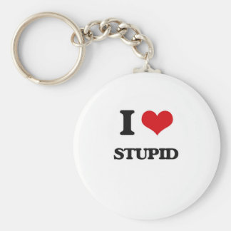 Chaveiro Eu amo estúpido