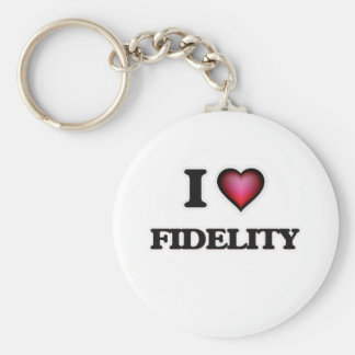 Chaveiro Eu amo Fidelity