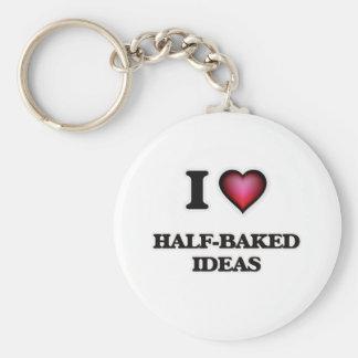Chaveiro Eu amo ideias meio-cozinhados