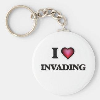 Chaveiro Eu amo invadir