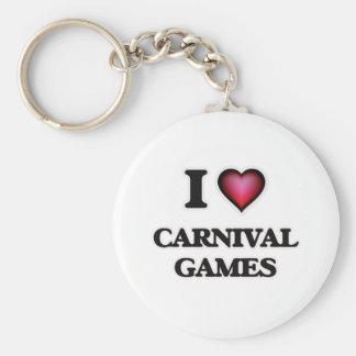 Chaveiro Eu amo jogos do carnaval