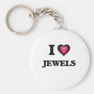 Chaveiro Eu amo jóias