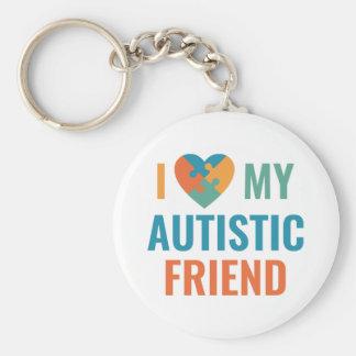 Chaveiro Eu amo meu amigo autístico