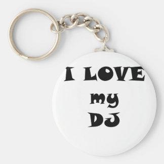 Chaveiro Eu amo meu DJ