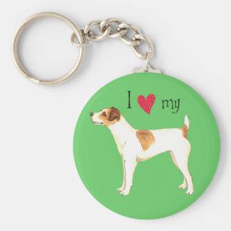 Chaveiro Eu amo meu Jack Russell Terrier