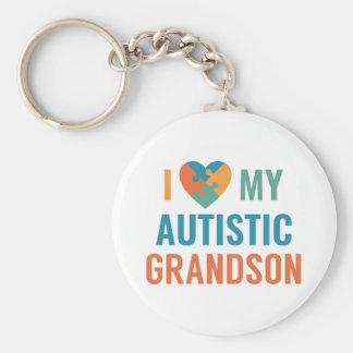 Chaveiro Eu amo meu neto autístico