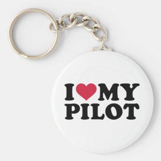 Chaveiro Eu amo meu piloto