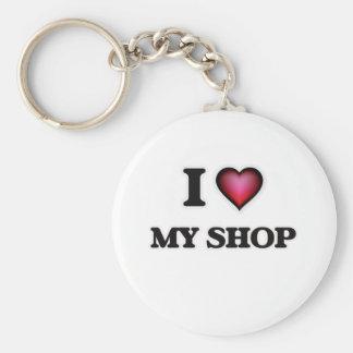 Chaveiro Eu amo minha loja