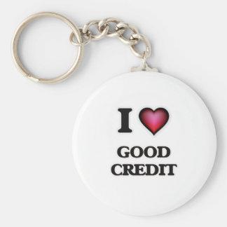 Chaveiro Eu amo o bom crédito