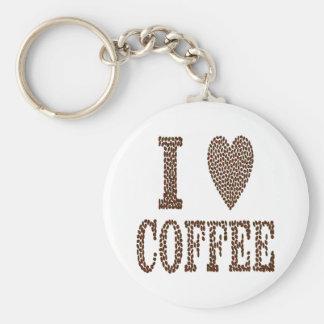Chaveiro Eu amo o café