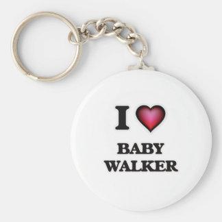 Chaveiro Eu amo o caminhante do bebê