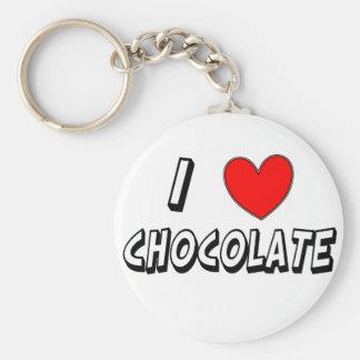 Chaveiro Eu amo o chocolate
