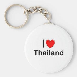Chaveiro Eu amo o coração Tailândia