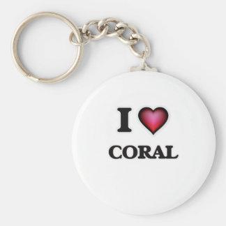 Chaveiro Eu amo o coral