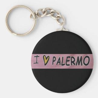 Chaveiro Eu amo o design de Palermo