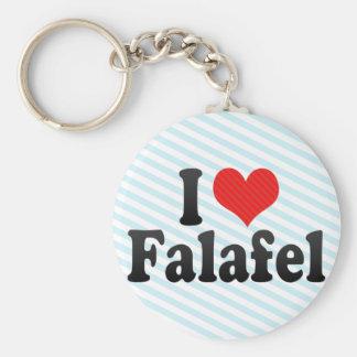 Chaveiro Eu amo o Falafel