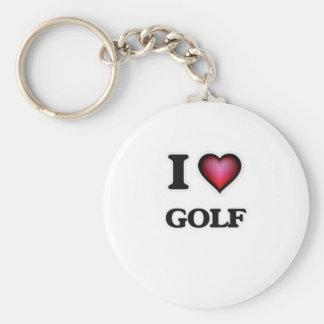 Chaveiro Eu amo o golfe