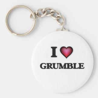 Chaveiro Eu amo o Grumble
