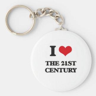 Chaveiro Eu amo o século XXI