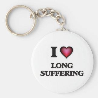 Chaveiro Eu amo o sofrimento longo
