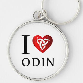 Chaveiro Eu amo Odin