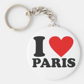 Chaveiro Eu amo Paris