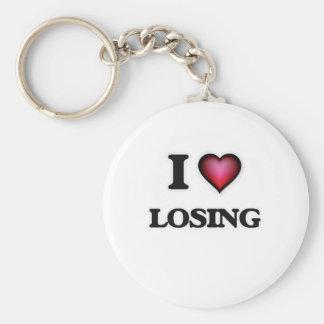 Chaveiro Eu amo perder
