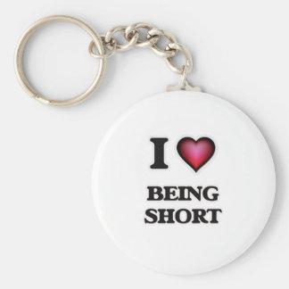 Chaveiro Eu amo ser curto