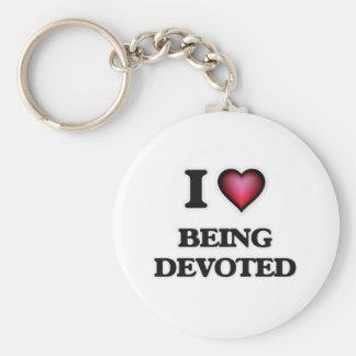 Chaveiro Eu amo ser devotado
