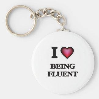 Chaveiro Eu amo ser fluente