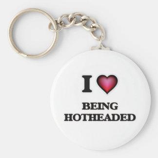 Chaveiro Eu amo ser Hotheaded