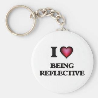 Chaveiro Eu amo ser reflexivo