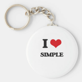 Chaveiro Eu amo simples
