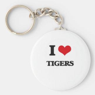 Chaveiro Eu amo tigres