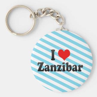 Chaveiro Eu amo Zanzibar, Tanzânia