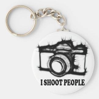 Chaveiro Eu disparo em pessoas