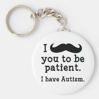 Chaveiro Eu estou com o autismo