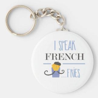 Chaveiro Eu falo o francês… Fritadas