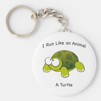 Chaveiro Eu funciono como um animal - uma tartaruga