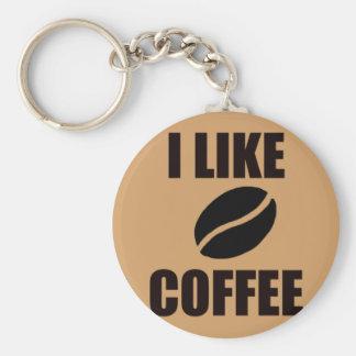 Chaveiro Eu gosto do café