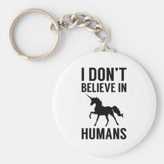 Chaveiro Eu não acredito nos seres humanos