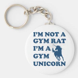 Chaveiro Eu não sou um unicórnio do gym do rato do gym