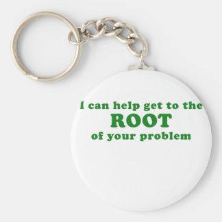 Chaveiro Eu posso ajudar a obter à raiz de seu problema