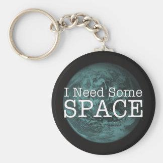 Chaveiro Eu preciso alguma corrente chave de espaço