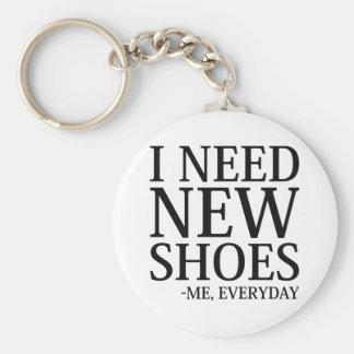 Chaveiro Eu preciso calçados novos