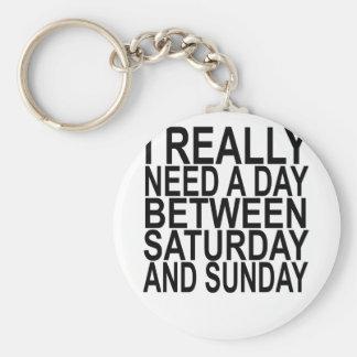Chaveiro Eu preciso realmente um BTW sábado ou domingo do