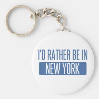 Chaveiro Eu preferencialmente estaria em New York