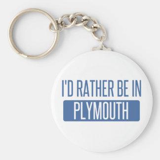 Chaveiro Eu preferencialmente estaria em Plymouth