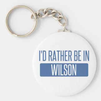 Chaveiro Eu preferencialmente estaria em Wilson